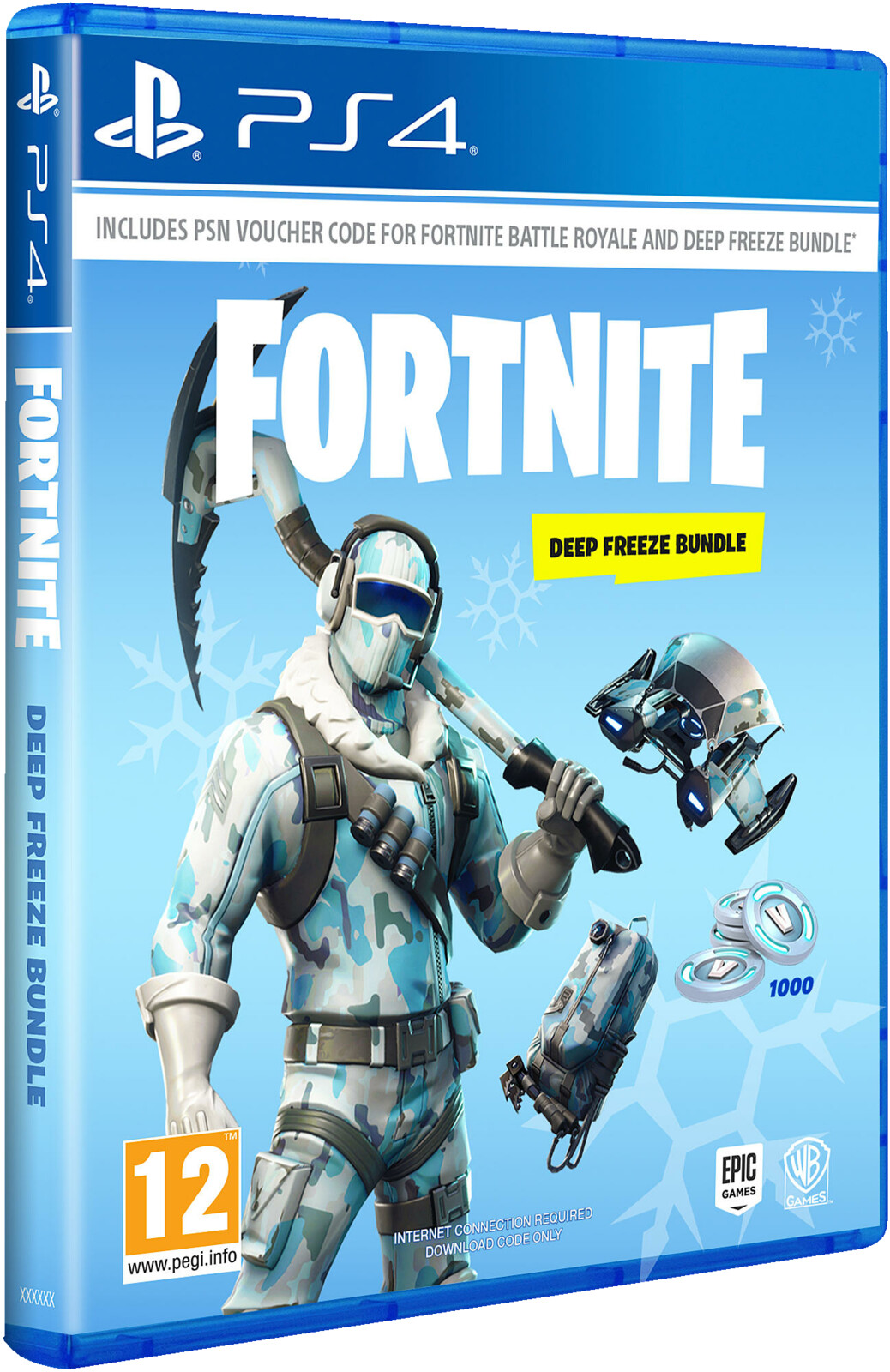 Fortnite Deep Freeze Bundle Playstation 4 Ebay