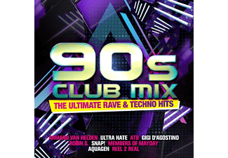 VARIOUS - 90s Club Mix-The Ultimative Rave Dance & Electro