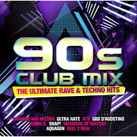 VARIOUS - 90s Club Mix-The Ultimative Rave [CD]
