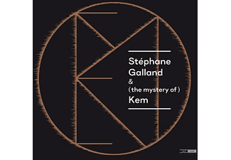 Stéphane Galland (drums) - Bram De Looze (piano) - Stéphane Galland & (the mystery of)  Kem - (CD)
