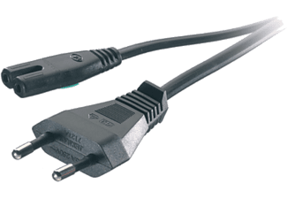 Cable de corriente - VIivanco 41095 Cable tipo 8, 1,25 M