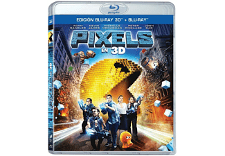 Pixels - Bluray 3D + Bluray