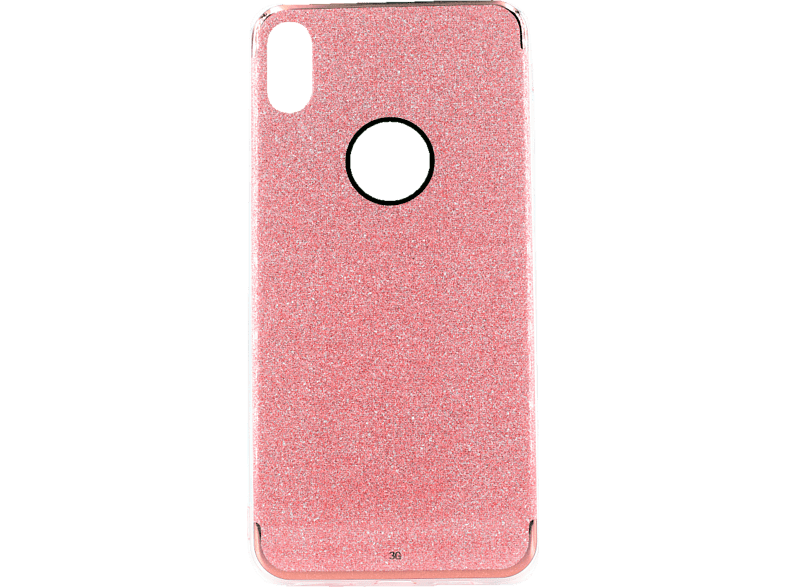 AGM  Glow Backcover Apple iPhone XS Max Thermoplastisches Polyurethan und Kunststoff Pink | 04026436273029