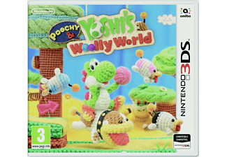 POOCHY & YOSHI'S WOOLLY WORLD - Juego Nintendo 3DS