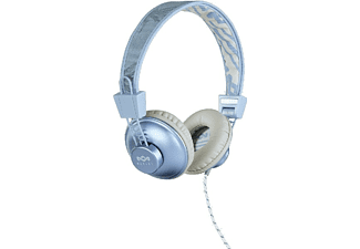 Auriculares - The House of Marley EM-JH011 Positive Vibration Blue Hemp, Acolchados, 3.5mm