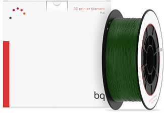 Bobina para impresoras 3D - BQ PLA Bottle green, 1,75 mm, 1 Kg
