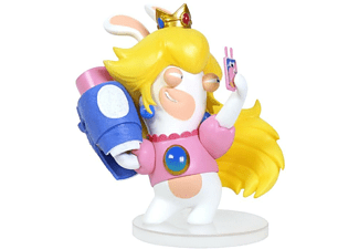 Figura - Mario + Rabbid Kingdom Battle, Rabbid Peach, 8 cm