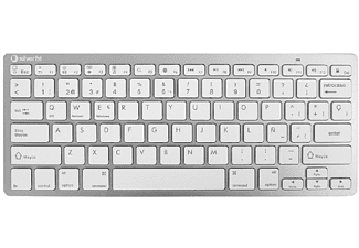 Teclado Wireless Blanco SILVER HT