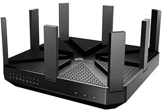 Router inalámbrico - Archer C5400, Tribanda (2,4 GHz/5 GHz/5 GHz), Gigabit Ethernet