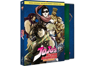 Jojo´s Bizarre Adventure: Battle tendency, Temporada 1, Parte 2: Episodios 10-26 - DVD