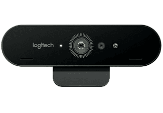 Webcam - Logitech BRIO 4K STREAM EDITION, 1080p/60fps en HD, 78 grados, Negro