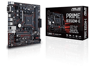 Placa base - Prime B350M-E, Mini ATX, AM4