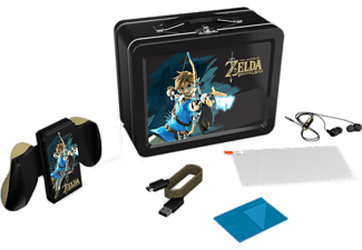 Kit accesorios - Power A - Lunchbox de Zelda (Edición Link con Arco) para Nintendo Switch, Joy-Con