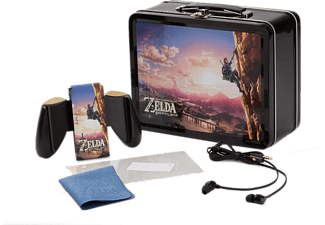 Kit accesorios - Power A - Lunchbox de Zelda (Edición Link Escalando) para Nintendo Switch,