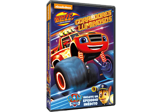 Blaze And The Monster Machines 8: Corredores Luminosos - DVD