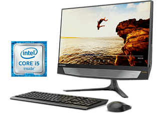 "All in One - Lenovo Ideacentre AIO 720-24IKB, 23.8"", Intel® Core i5-7400, 8 GB RAM, 1 TB HDD + 128"