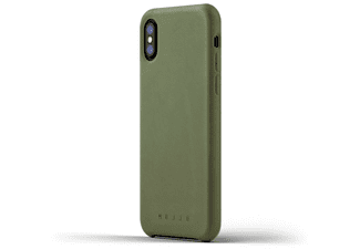 Funda - Mujjo CS-095-OL, para iPhone X, Verde oliva