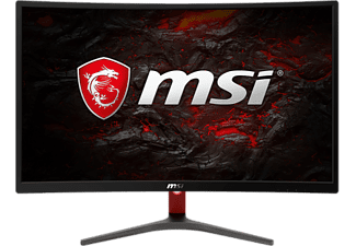 "Monitor - MSI Optix G24C, 23.6"" FHD, Curvo, 1 ms, LED, HDMI, Negro"