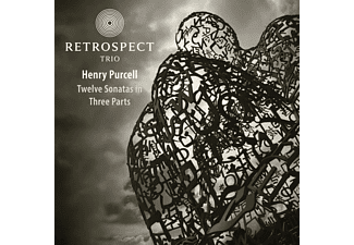 Retrospect Trio - Matthew Halls - Twelve Sonatas in Three Parts - (CD)