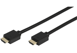 Cable HDMI - Vivanco 42116, Full HD, ARC, 1 metro, Negro