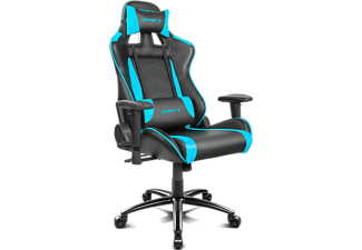 Silla gaming - Drift DR150, Reposabrazos, Cojín cervical y lumbar, Reclinable, Giratorio, Altura