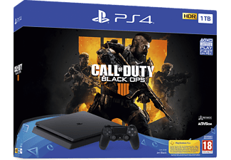 SONY PS4 1TB + Call Of Duty: Black OPS 4 Oyun Konsolu