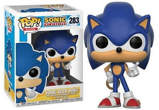 Figura - Funko Pop! Sonic con anillo, Sonic The Hedgehog