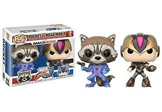 Figura - Funko Pop! Rocket vs. Mega Man X, Marvel vs. Capcom