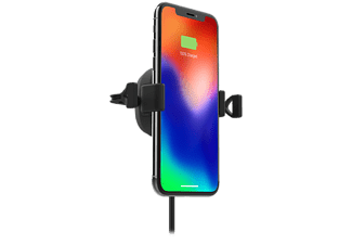 MOPHIE Charge Stream Wireless Charging Vent Mount Trådlös Billaddare - Svart