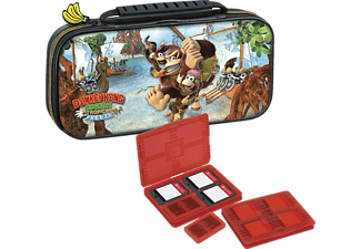 Funda Nintendo Switch - Ardistel DONKEY KONG TROPICAL FREEZE, Interior acolchado, 2 fundas juegos,