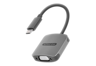 SITECOM USB-C / VGA-adapter + USB-C port (CN-374)
