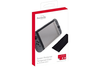 Protector de pantalla - Rainbow Computer World Screen Protector Tempered Glass, Nintendo Switch