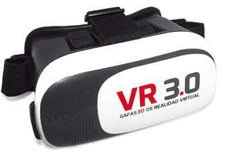 "Gafas de realidad virtual - Battery Revolution VR 3.0, iOS y Android, para pantallas de 4.7"" a 6"