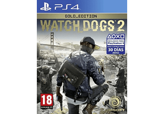 PS4 Watch Dogs 2 - Gold Edition