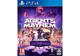 PS4 AGENTS OF MAYHEM DAY ONE ED
