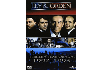 Tv Ley Y Orden T3 (Dvd)