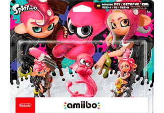 Amiibo Splatoon Octoling Boy / Octopus / Girl (2007966)