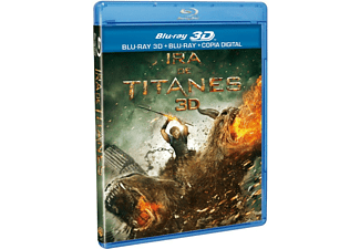Ira de Titanes - Bluray 3D + Bluray + Copia Digital