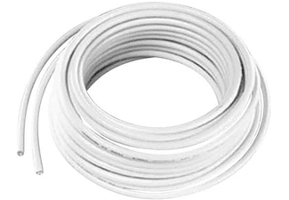 Cable coaxial - Vivanco 19415, 10m, Blanco