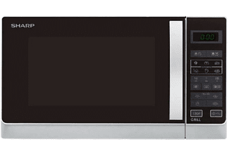 Microondas - Sharp R-742(IN)W, 900W, grill 1000W, 25L.