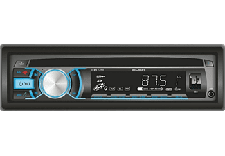 Autorradio - Belson BS-12133BT V2, 4 x 40W, lector CD, USB, SD, Bluetooth, FM/AM con RDS, AUX