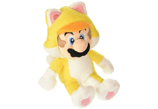 Peluche - Super Mario Bros - Mario Cat, 25 cm