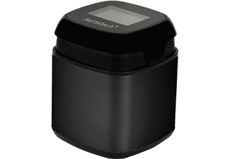 Altavoz inalámbrico - Sunstech SPUBT 710, Bluetooth, FM, Negro