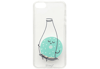 Funda - Mr. Wonderful Rosquilla, MRCAR073 para iPhone 5/5S/5SE, Silicona, Transparente multicolor