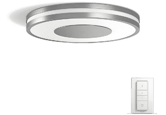 3f262bbd7482 Plafón gris LED inteligente con mando Philips Hue Being