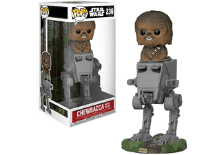 Figura - Funko Pop! Chewbacca con AT-ST, Star Wars
