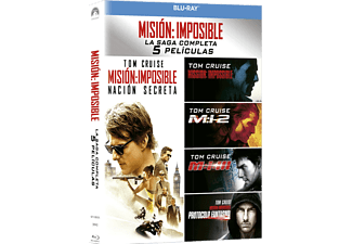 Box Misión Imposible 1-5 - Blu-ray