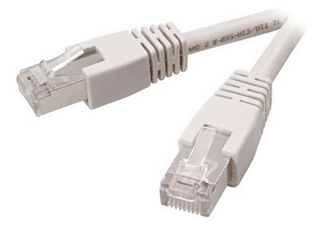 Vivanco CAT 5e network lead, 2.0 m, grey 2m Gris cable de red