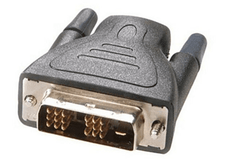 Vivanco 45488 DVI-D HDMI Negro adaptador de cable
