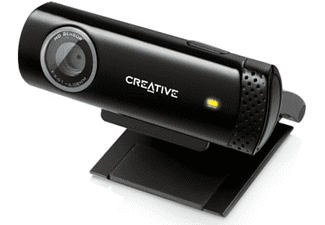 Webcam - Creative Live Cam Chat HD, 720p, micrófono integrado